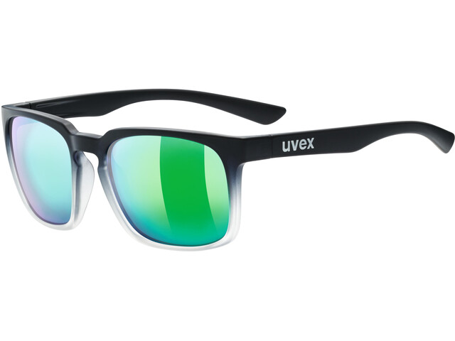 UVEX LGL 35 Colorvision Lifestyle Glasses black matt clear/daily green